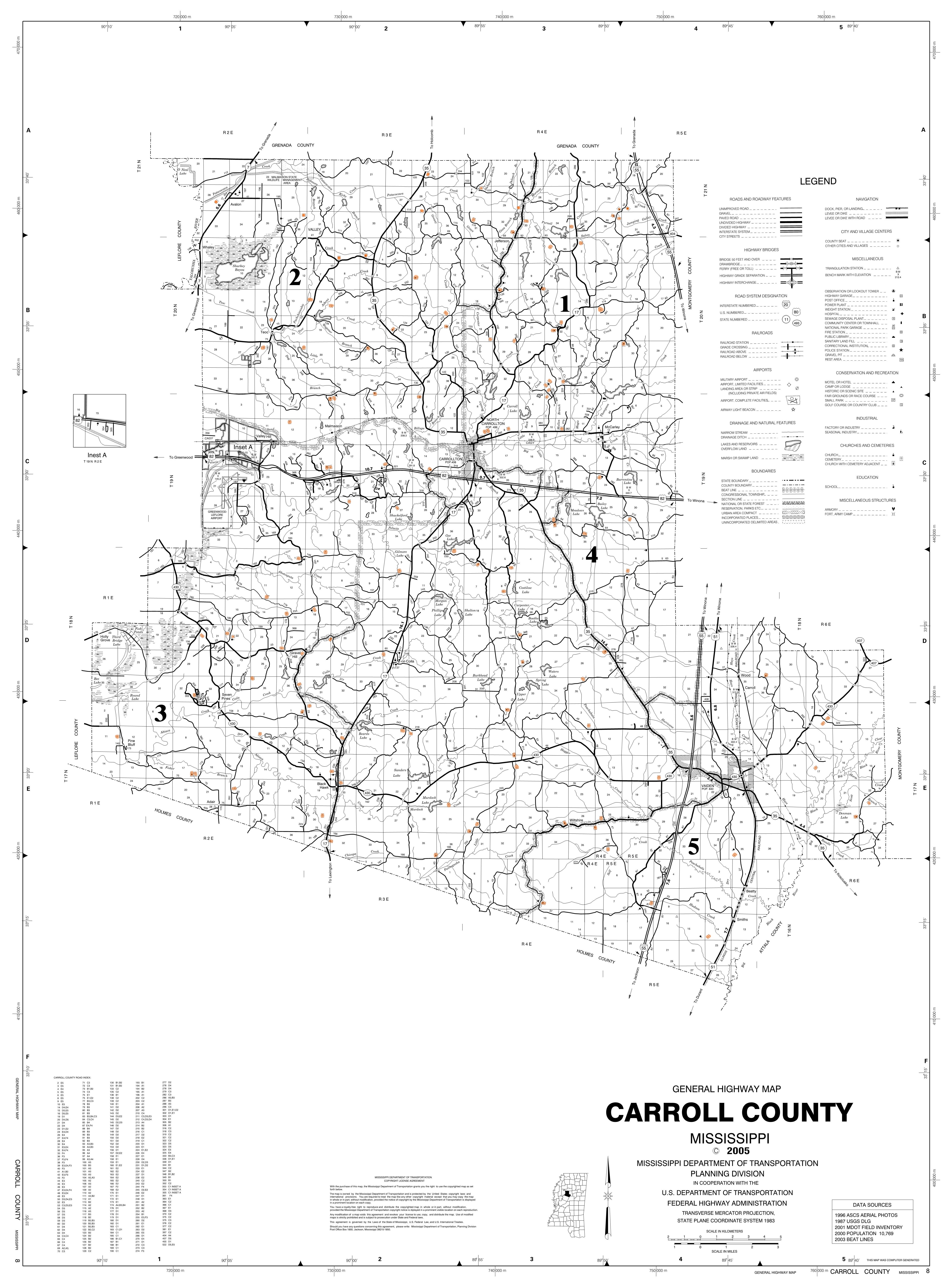 Cemeteries Of Mississippi Counties