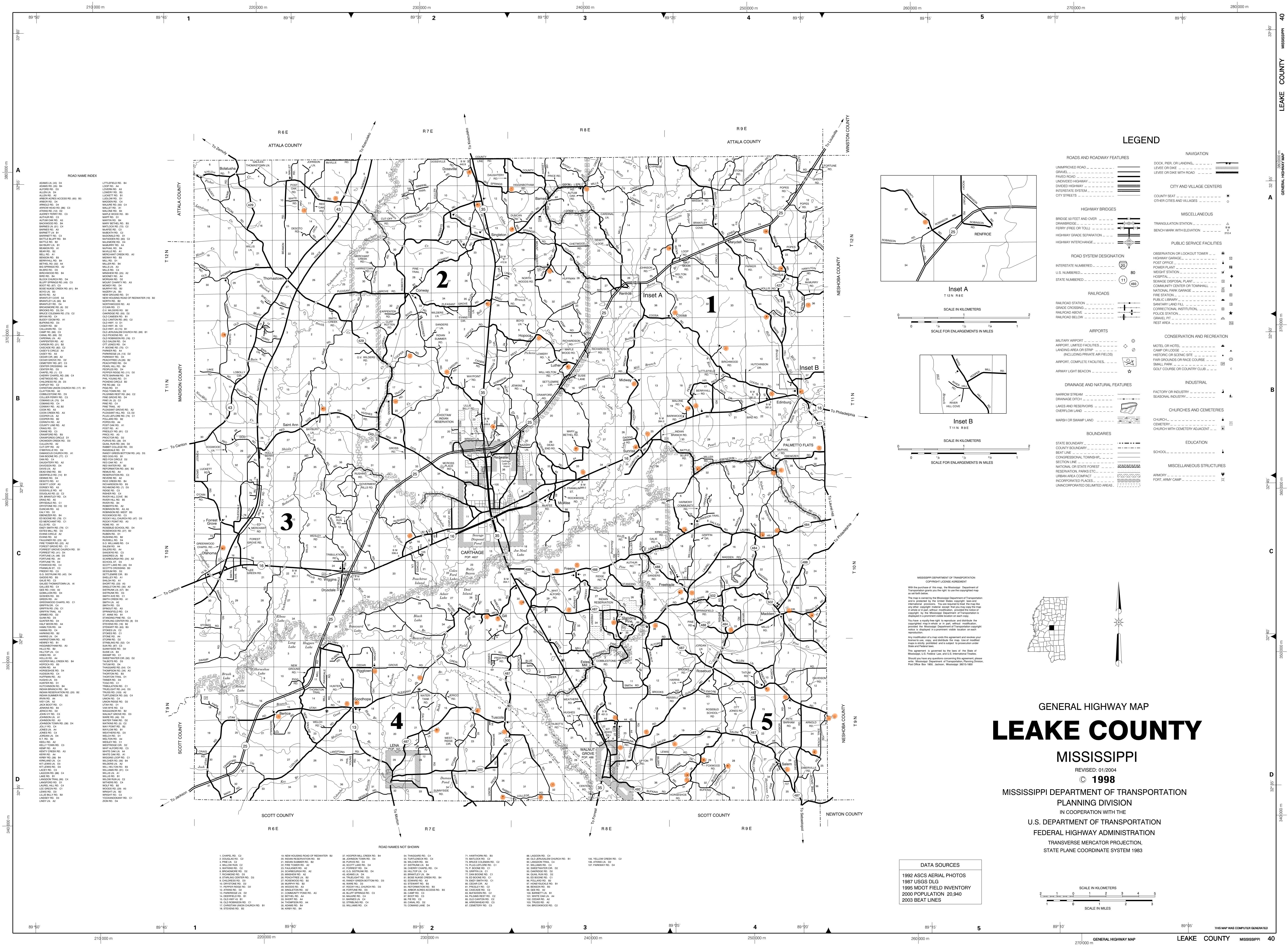 Cemeteries Of Mississippi Counties - Ms county map