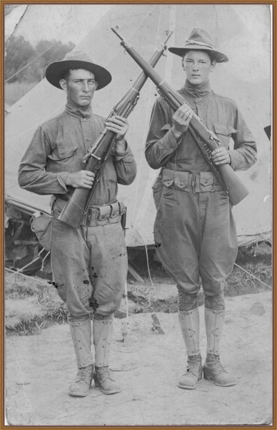 Earnest Lane and Fitzhug McCoy, Perry County Soldiers, World War I