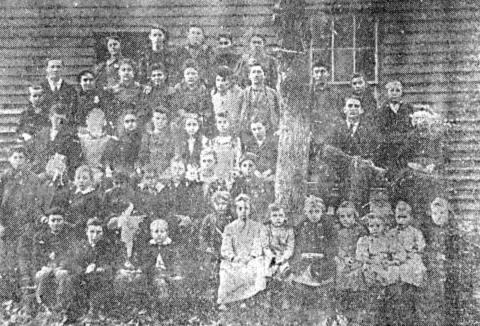 Algoma school 1894 1910 1948 school board of 1948